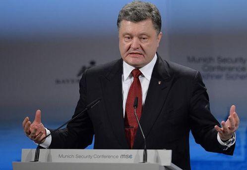 Путин делает вДонбассе украинский Алеппо— Порошенко