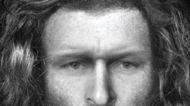 Воспроизведен имидж мужчины жившего 1400 лет назад