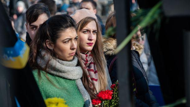 Як Київ віддавав шану Героям Євромайдану: з'явилися фото