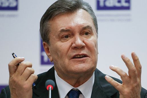 Янукович призвал мировых лидеров инициировать референдум остатусе Донбасса