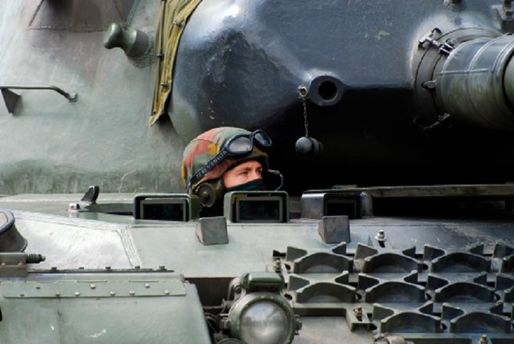 Германия отправила вЛитву тяжелую военную технику
