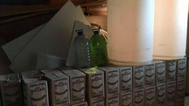 Три тонны русского «Боярышника» были изъяты вКиеве