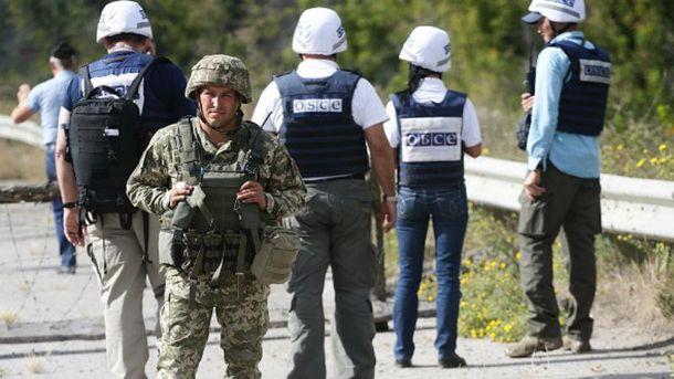 УКатериновки боевики совершили вооруженную провокацию вотношении миссии ОБСЕ