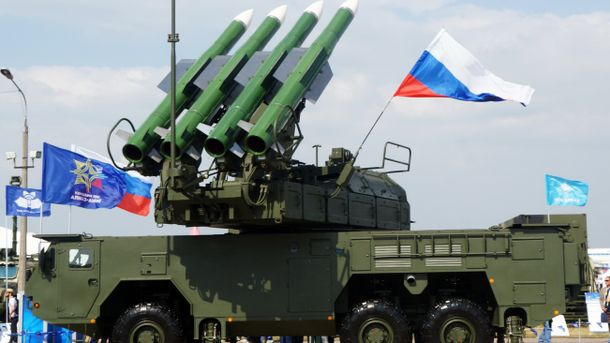 РФ разместит вКрыму зенитно-ракетные комплексы «Бук»