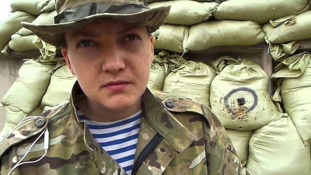 Надежда Савченко снова на Донбассе