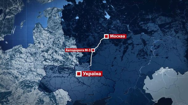 «Автодор» обнародовал карту альтернативного объезда платных участков М3 «Украина» вКалужской области
