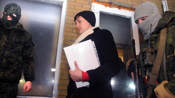 Служба безопасности Украины допросила Надежду Савченко после ее  визита всамопровозглашённую ДНР