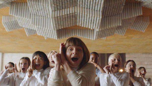 В Києві зняли незвичайне відео для японського брендового одягу