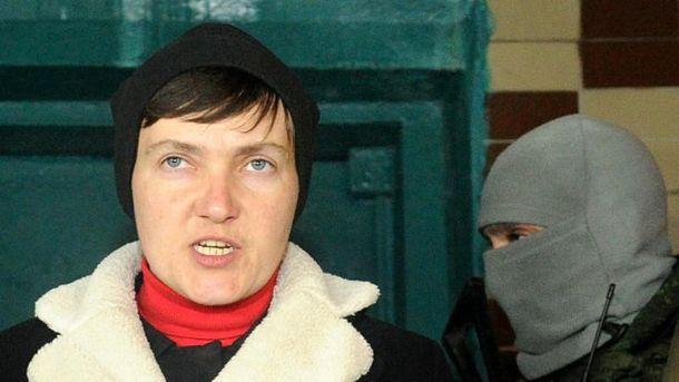 Савченко рассказала ожелании бойцов напередовой развернуть пушки наКиев