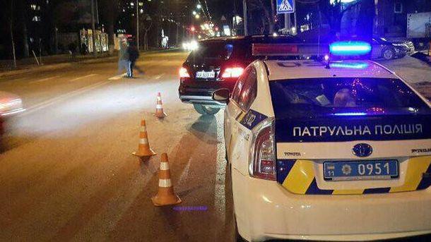 На месте аварии работала полиция и оперативно-следственная группа