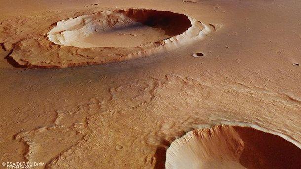 НаМарсе отыскали следы «великого потопа»