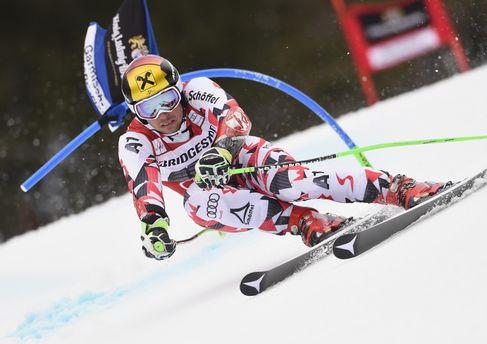 Австрийский лыжник побил рекорд, вшестой раз выиграв Кубок мира