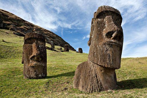 Тайна исполинских статуй наострове Пасхи вконце концов раскрыта