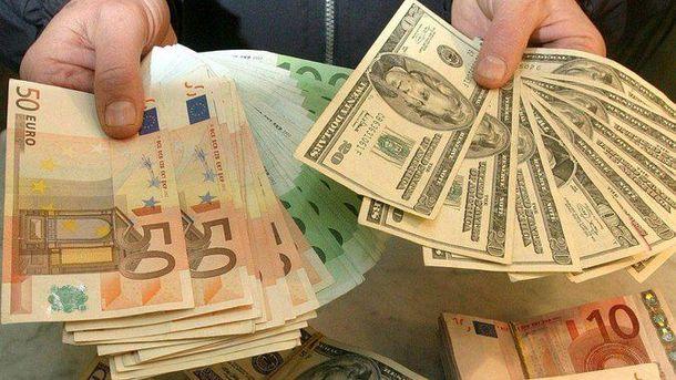 Євро дорожчає, а от долар – навпаки