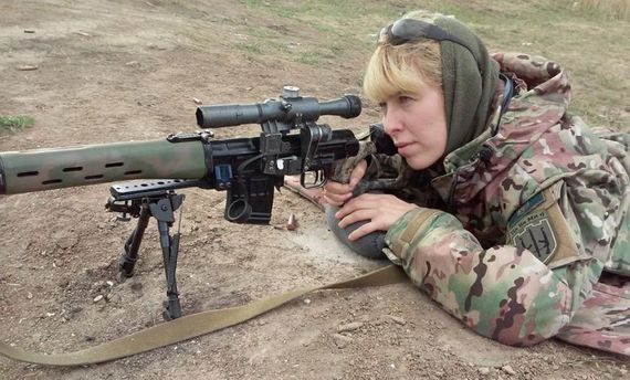 Олена Білозерська, боєць Української добровольчої армії