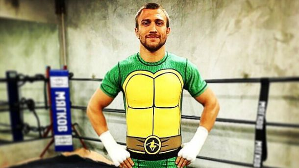 Ниндзя-черепашка: популярный украинский боксер сразил антуражем тренировки— фото ивидеофакт