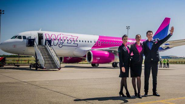 Wizz Air летом запустит 4 новых рейса из Украинского государства