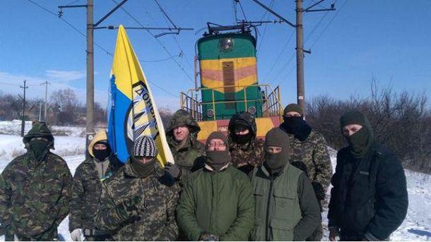 Участники блокады Донбасса проинформировали опотере одного из«редутов»