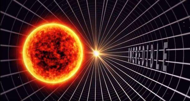 Создано 3D-видео, вкотором сравнили все объекты Вселенной