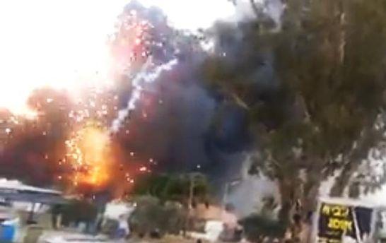 ВИзраиле произошел смертоносный взрыв наскладе фейерверков
