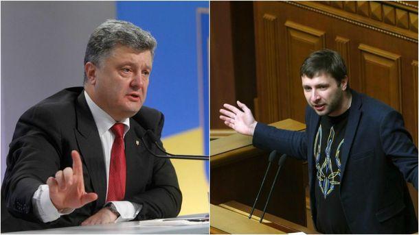 Порошенко отреагировал наинцидент около Славянска сдепутатом Парасюком