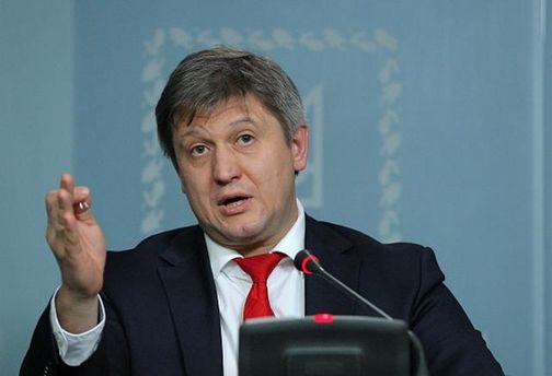 Данилюк переконаний, що блокада Донбасу знизить відсоток ВВП України