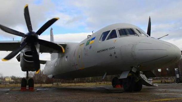 «Антонов» обнародовал  видео сновым украинским самолётом Ан-132D