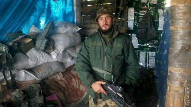 Військовослужбовець 36-ої окремої бригади морської піхоти сержант Леонід Галайчук
