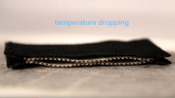 ВСША создали ткань, которая утолщается при похолодании