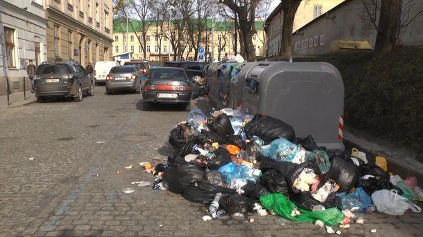 Сміття у Львові
