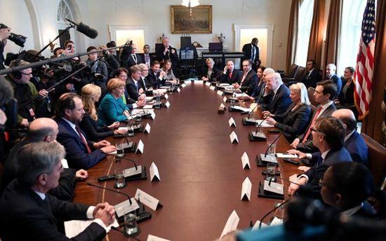 Встреча Меркель и Трампа в Вашингтоне