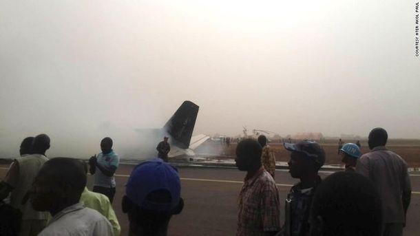 Авіакатастрофа у Південному Судані
