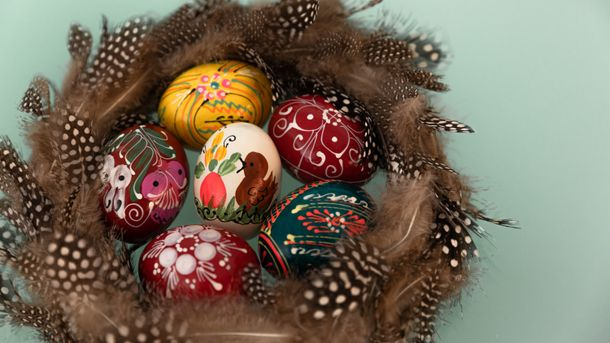 Великодні яйця та крашанки: яскраві та прості ідеї для оздоблення