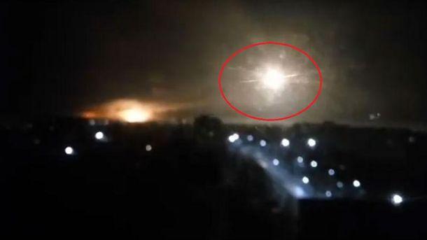 Киев сказал опогибшей впожаре наскладе сбоеприпасами