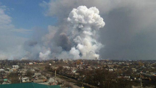 Взрыв на складе в Балаклее – это диверсия, давайте называть вещи своими именами