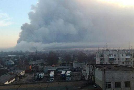 Інтенсивність вибухів у Балаклії зменшилася, – Міноборони