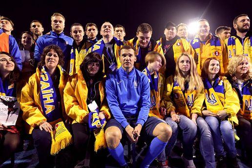 «Воины-света, воины-добра»: фанаты сборной Украинского государства поразили своим песнопением граждан Загреба