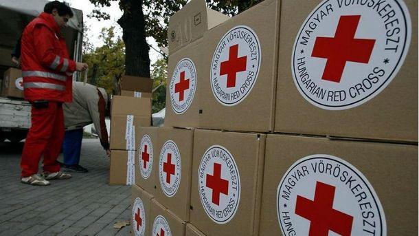 Тонны гуманитарки направились нанеподконтрольную территорию Донбасса