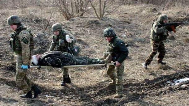 В клинику Днепра привезены 11 раненых бойцов иззоны проведения АТО
