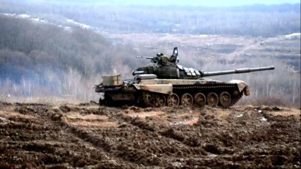 Как вКарпатах тренируются украинские танкисты— Горы вместо терриконов