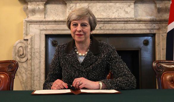 Тереза Мэй подписала письмо, которое официально запустит Брекзит
