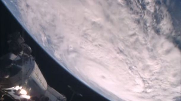 NASA показало, как шторм «Дебби» выглядит изкосмоса