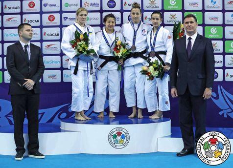 Українська дзюдоїстка здобула медаль на престижних змаганнях