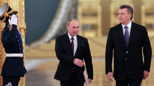 Путин предупреждал оЯнуковича оКрыме иДонбассе— Москаль
