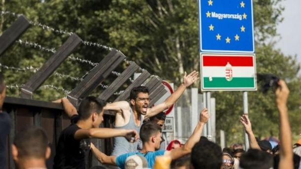 Власть Венгрии начала кампанию против европейского союза
