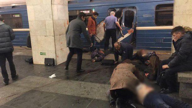Взрыв вметро Санкт-Петербурга: украинцев среди погибших нет