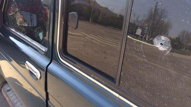 НаПолтавщине расстреляли автомобиль депутата Ляшко