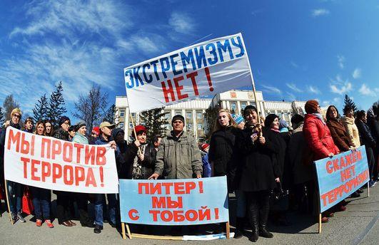 В РФ снова митинги. Опять задерживают людей