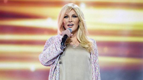 Украинская эстрадная певица Повалий спела на основной сцене Российской Федерации
