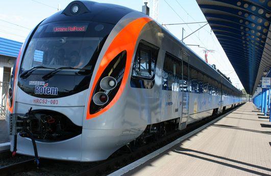 Дополнительный поезд «Интерсити+» Киев— Львов— Перемышль будет курсировать напасхальные праздники